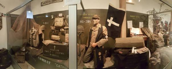 Big Red One Museum Chaplain Display
