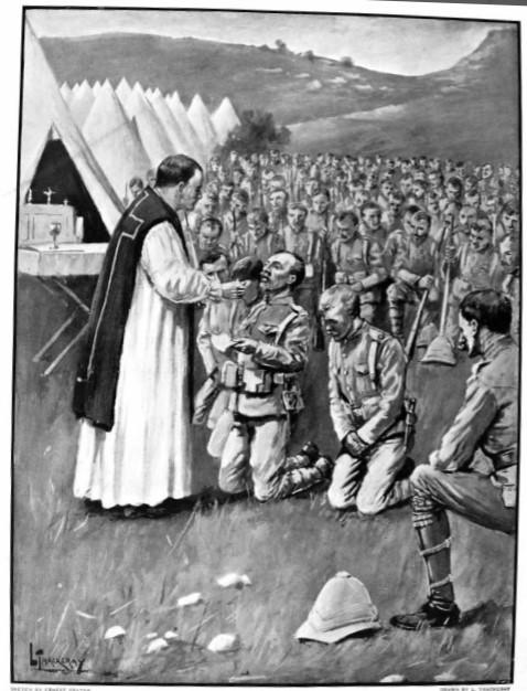 Boer War Worship Service