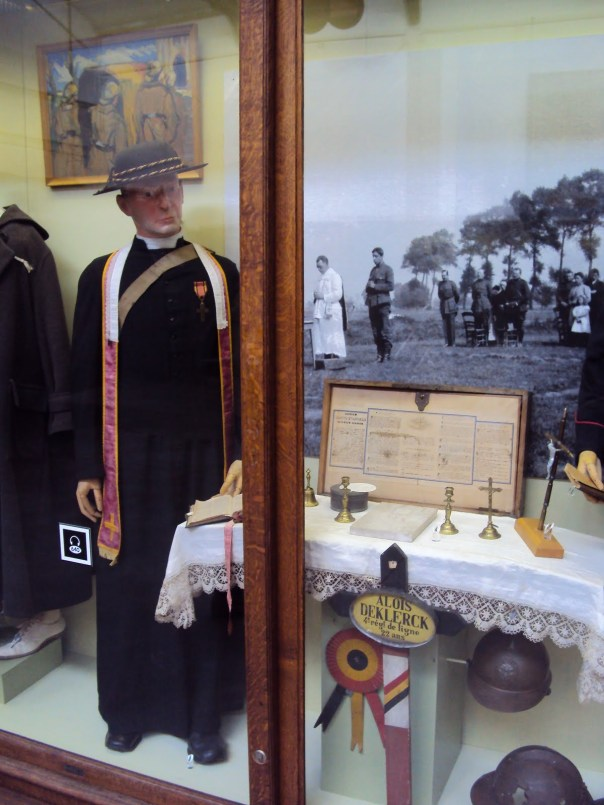 Royal Military Museum Brussels Chaplain Display