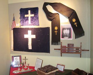 veterans museum of texas chaplain display