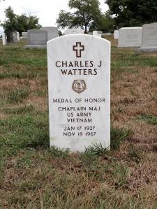 Chaplain Charles Watters Arlington