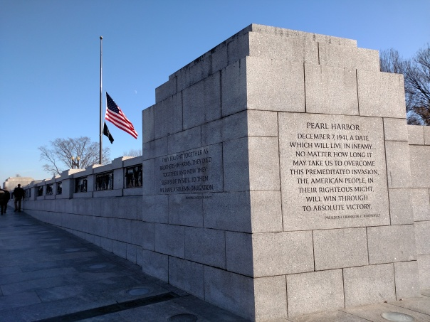 National WW2 Memorial