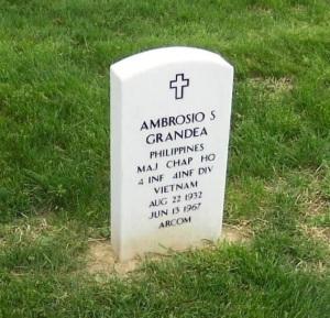 Chaplain-Grandea-Grave-marker