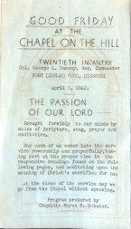Worship Bulletin-FLW-1943-185