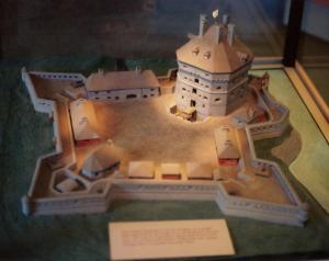 Model of Fort Saint Frédéric