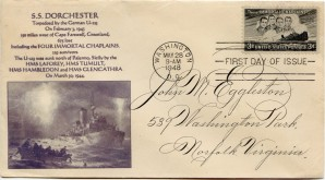 Four Chaplains First Day Cover141