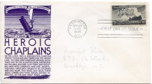 Four Chaplains First Day Cover143