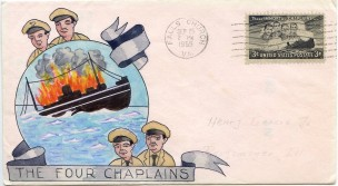 Four Chaplains First Day Cover146