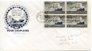 Four Chaplains First Day Cover147