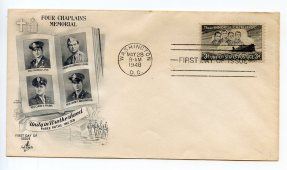 Four Chaplains First Day Cover149