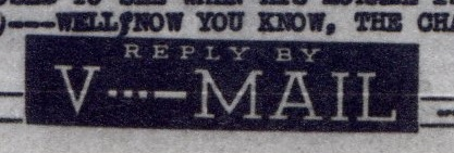 V-Mail-Chaplain-1945-Title