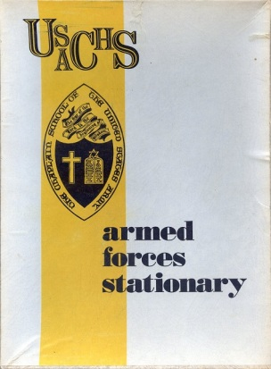 USACHS Stationary177-30