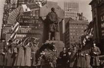 Chaplain Duffy monument dedication ceremony, 1937