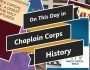 On This Day in Chaplain CorpsHistory
